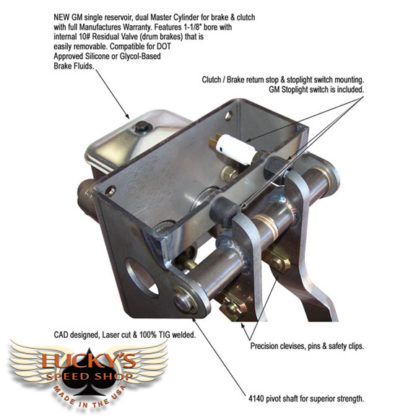 Lucky's Speed Shop Hot Rod Pedals