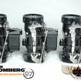Stromberg BIG97 Tri-Power - Black & Chrome