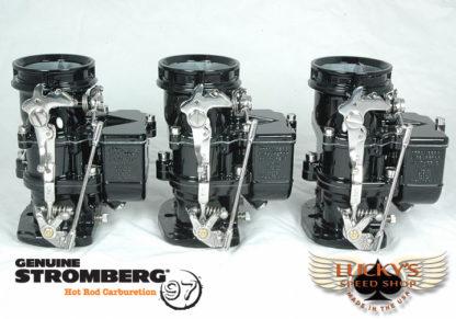Stromberg BIG97 Tri-Power - Black & Chrome
