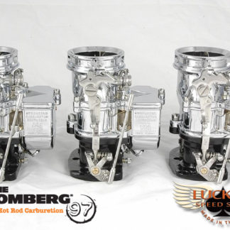 Stromberg BIG97 Tri-Power - Chrome