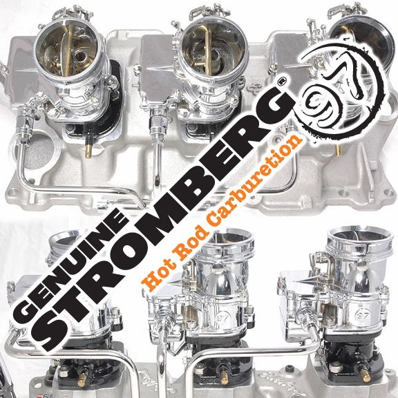 Stromberg BIG97 Tri-Powers